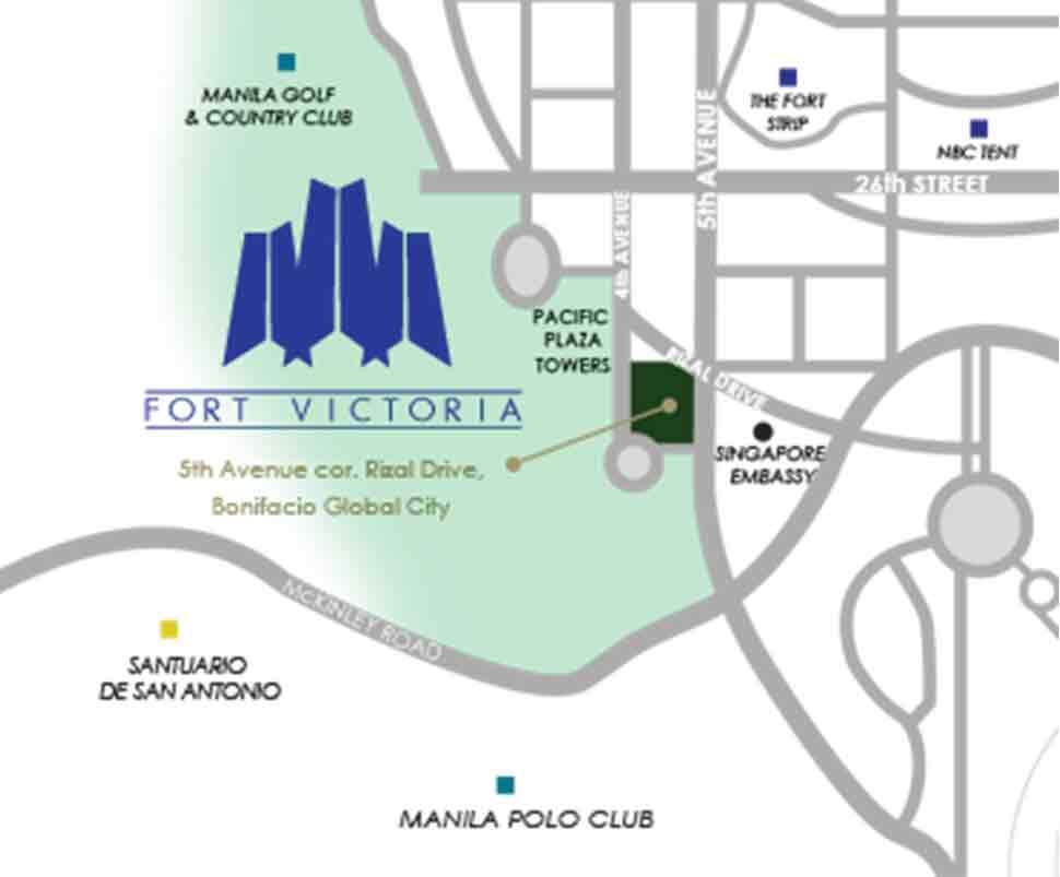 Fort Victoria Location