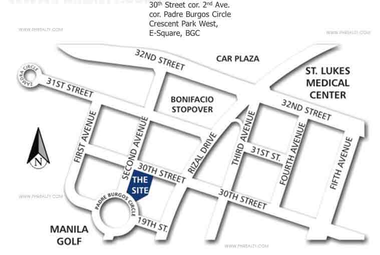 The Fort Residences Location