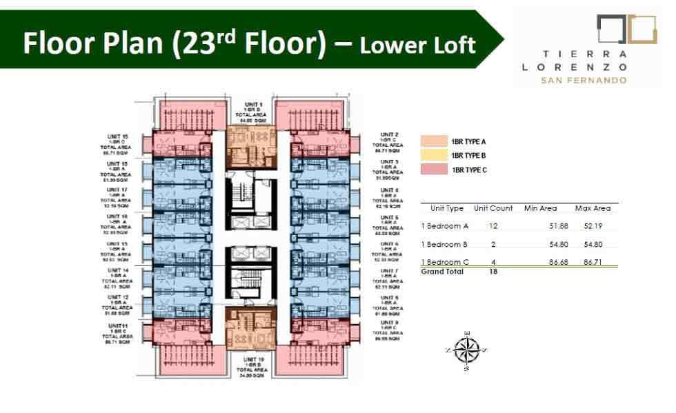 Floor Plan (23rd Floor)
