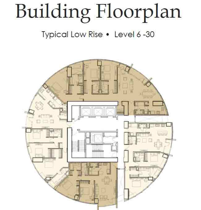 Floor Plan Level 6 - 30