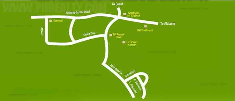 Tagaytay Prime Residences Location