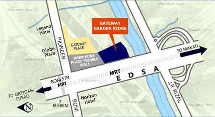 Gateway Garden Ridge Location