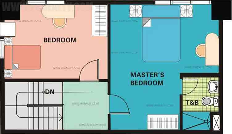 Unit Plan 3 Bedroom Upper Level