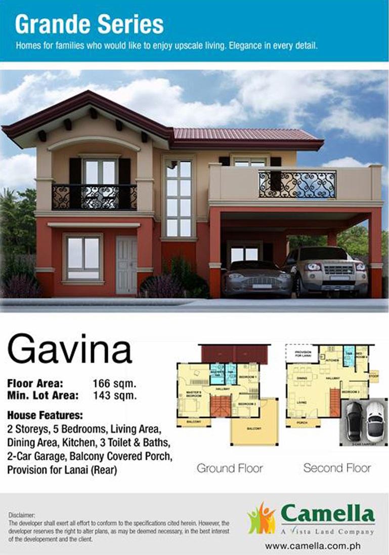 Gavina Floor Plans