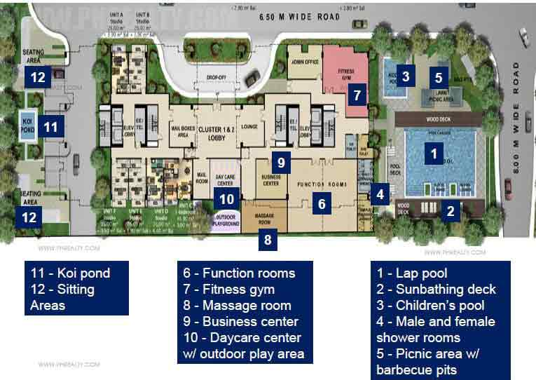 Amenity Floor Plan