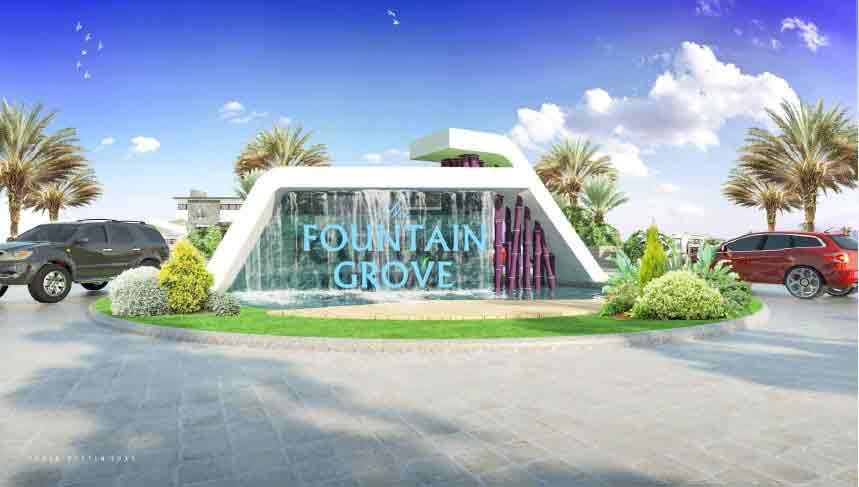 Grand Fountain Marker
