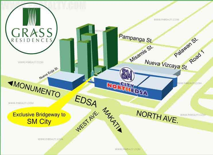 Grass Residences Location