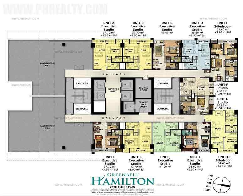 26th Floor Plan