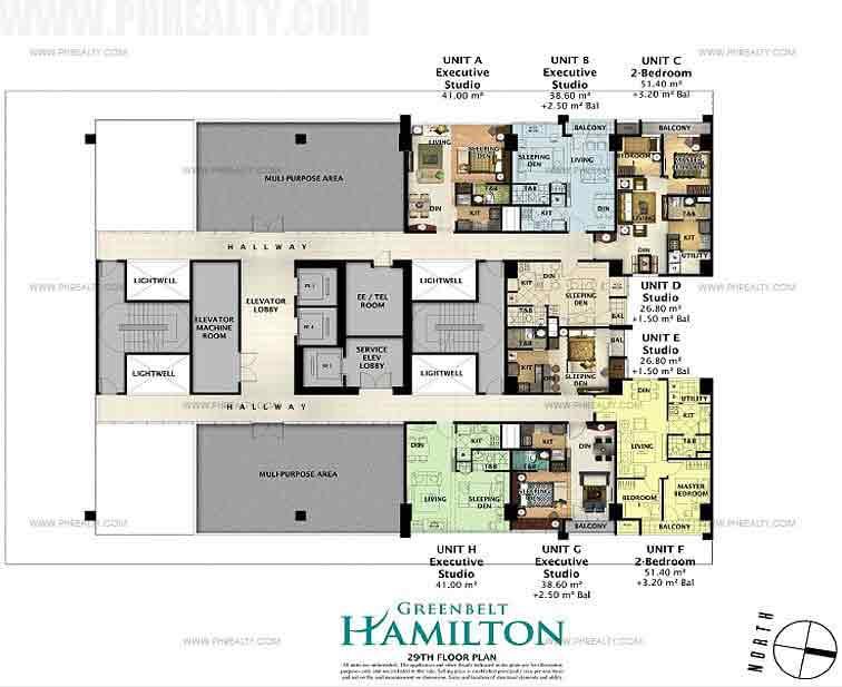 29th Floor Plan