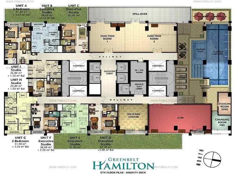 6th Floor Plan