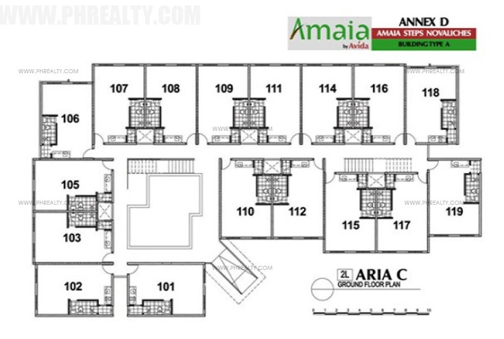 Tower 11 arezzo place condo in pasig city for 15 dunham place floor plans