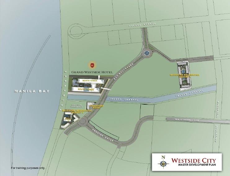 Grand Westside Hotel Location