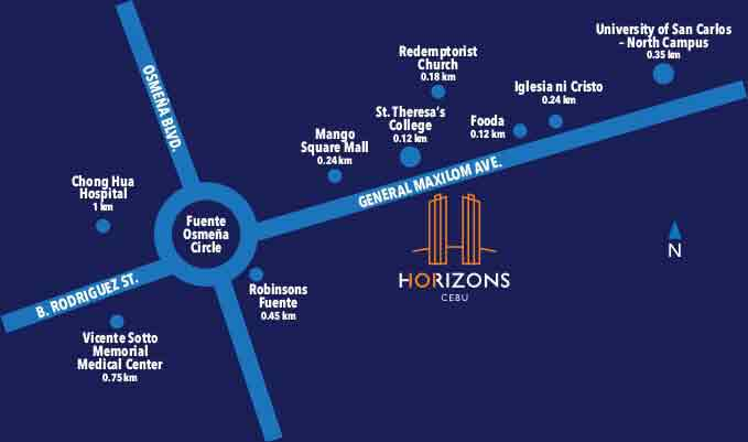 Horizons 101 Location