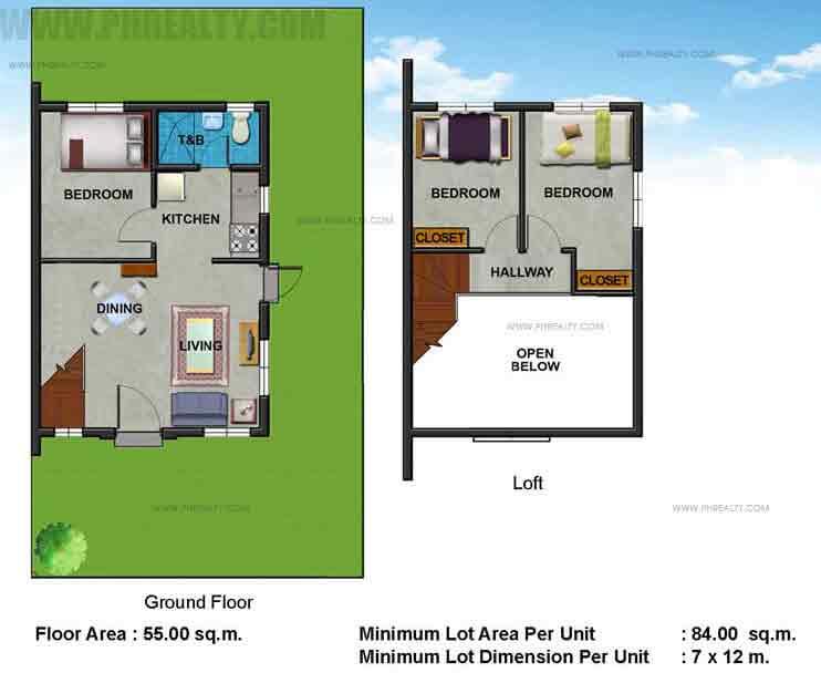 Jamila Floor Plan
