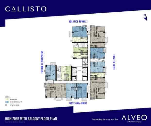 Tower 1 Floor Plans Callisto Condo In Makati City