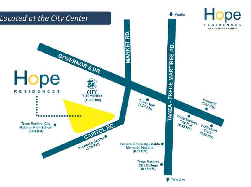 Hope Residences Location