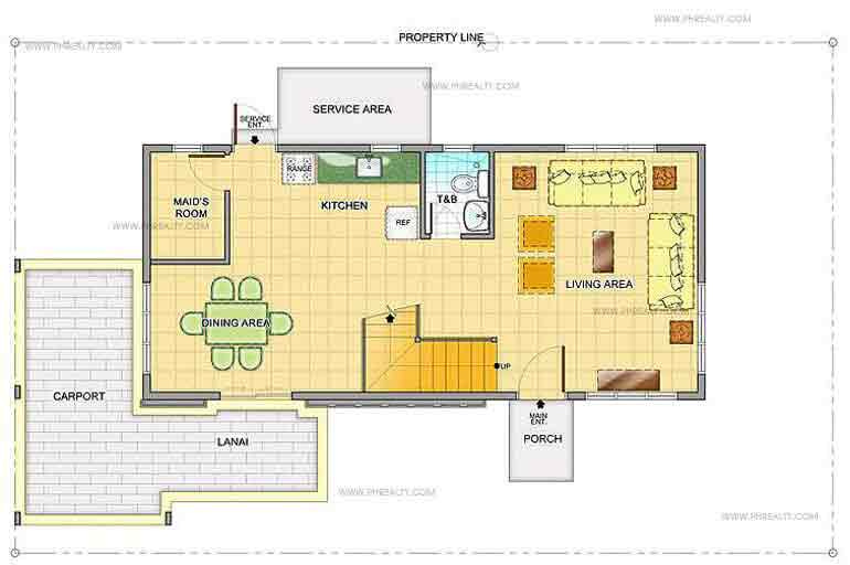 Hyacinth Ground Floor Plan