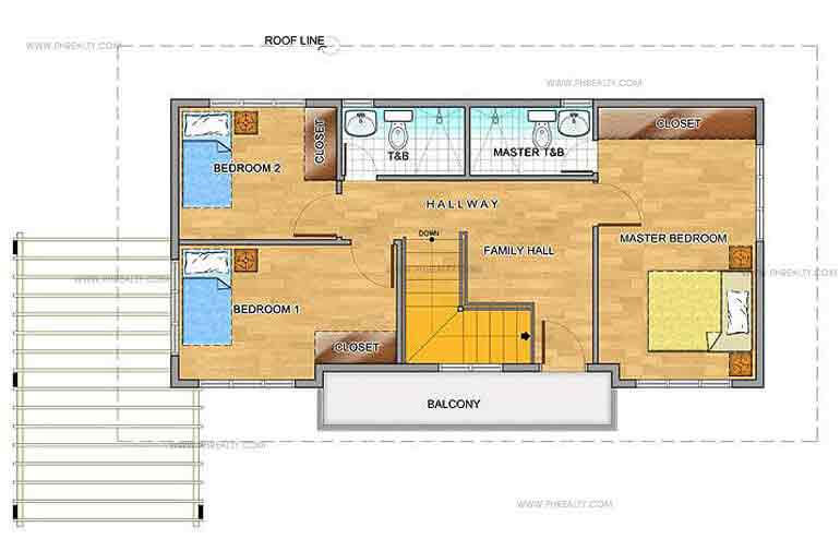 Hyacinth Second Floor Plan