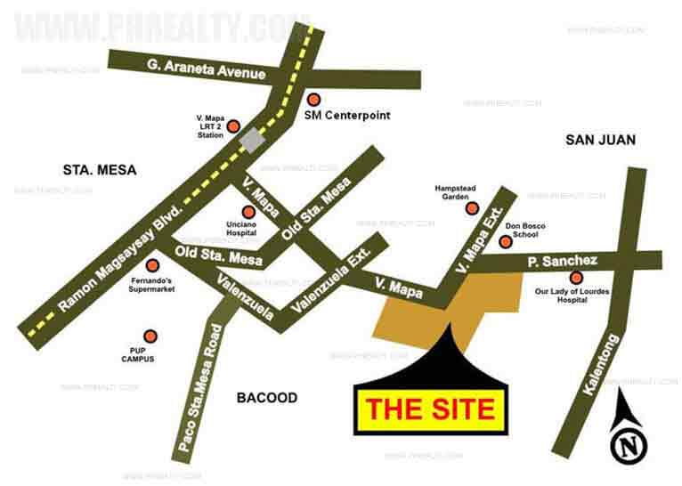 Illumina Residences Manila Location
