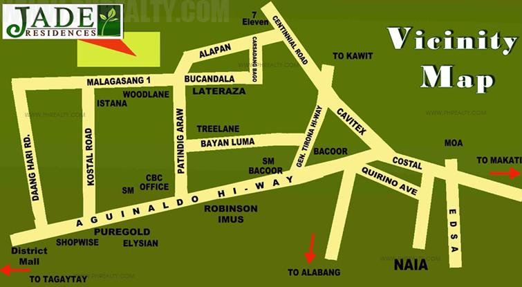 Jade Residences Location