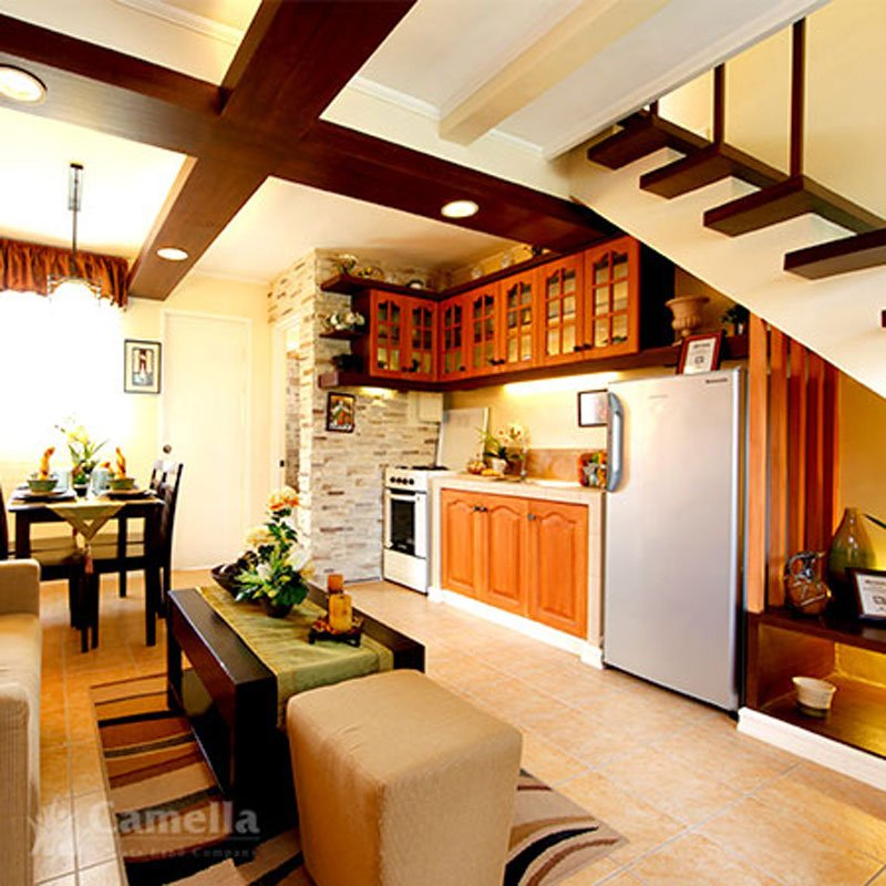 ... Camella Homes Kitchen Area ...