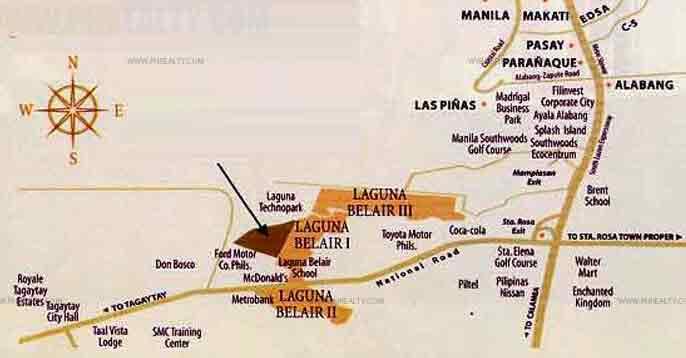 Laguna Bel Air Location