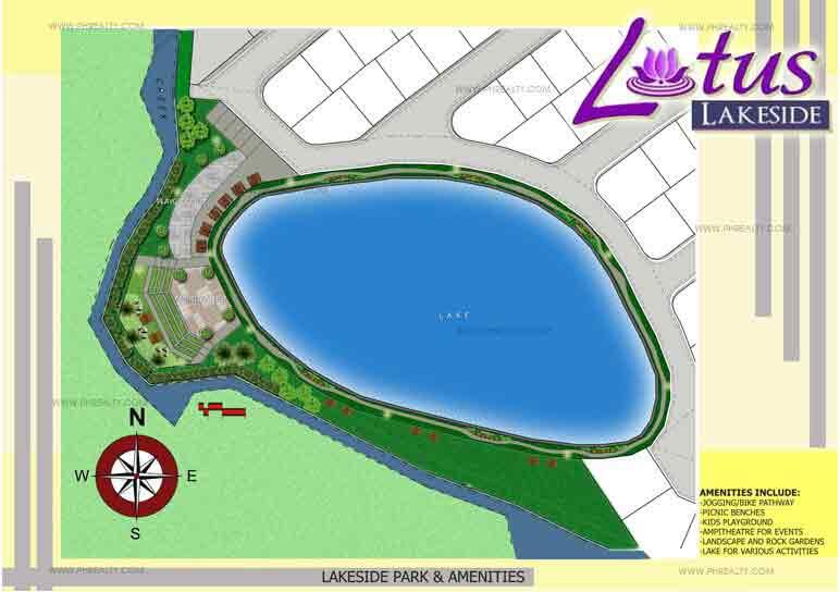 Lakeside Amenity Plan