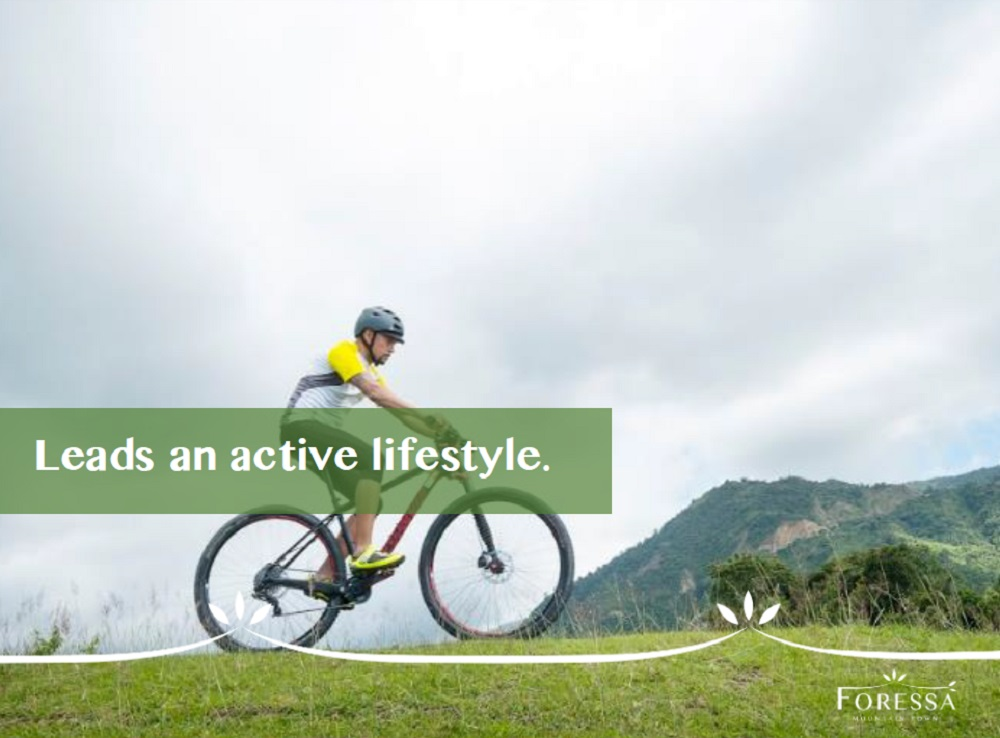 Leads an active lifestyle