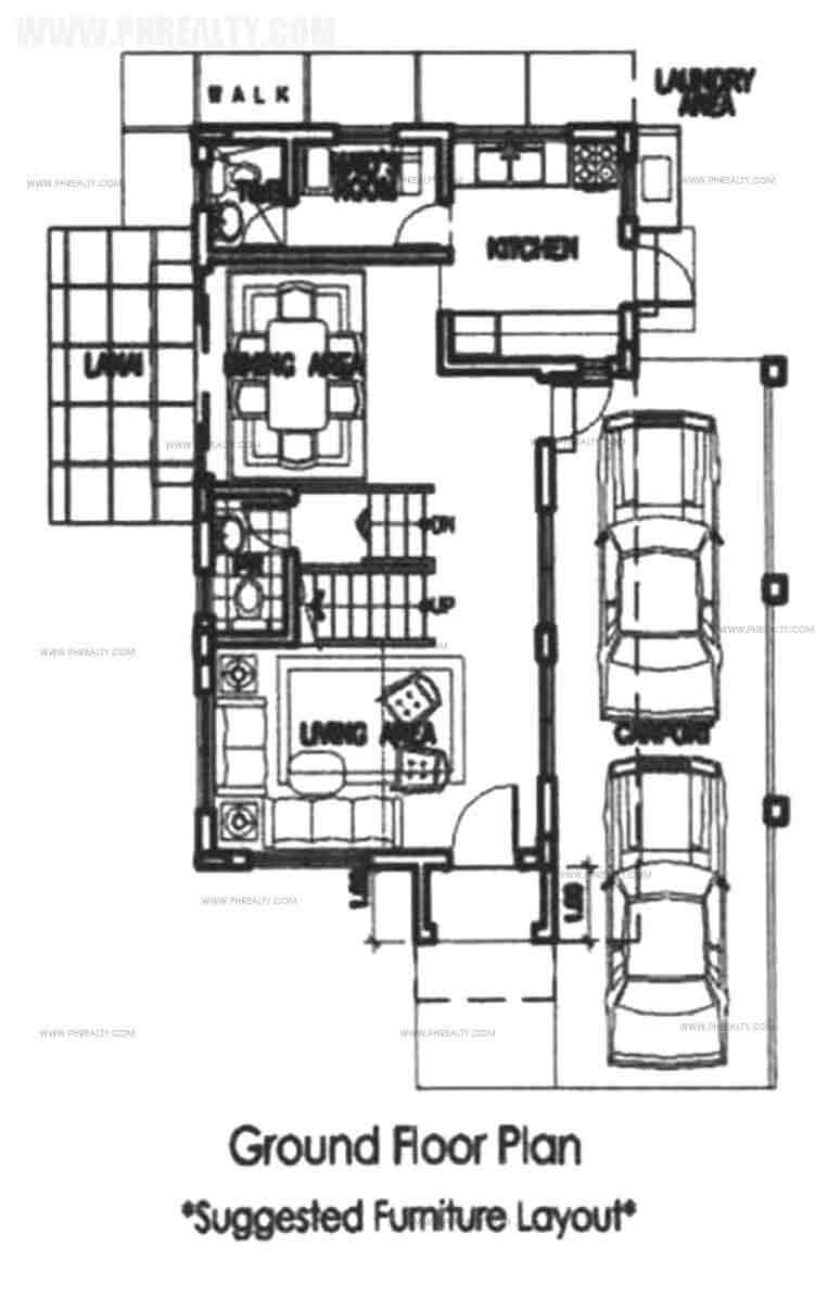 Legian Ground Floor Plan