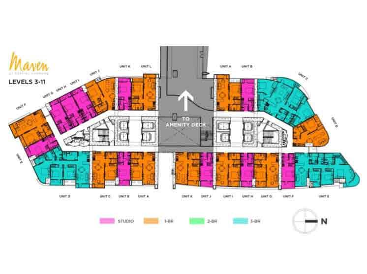 Level 3 - 11 Floor Plan