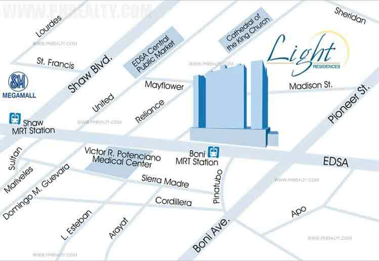 Light Residences Location
