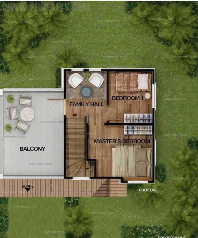 Lily (Standard) 2nd Floor Plan