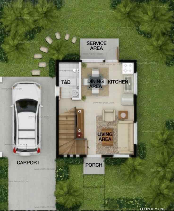 Lily (Standard) Ground Floor Plan