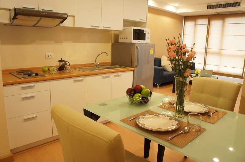 Kitchen with Dinning Area