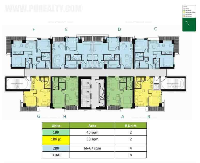 Level 14-21 Floor Plan