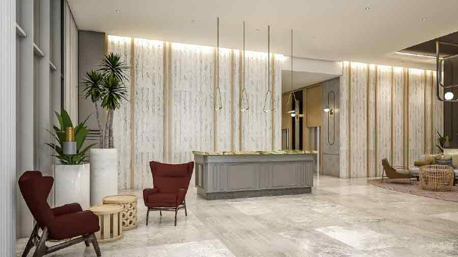 Lobby with Lounge Area