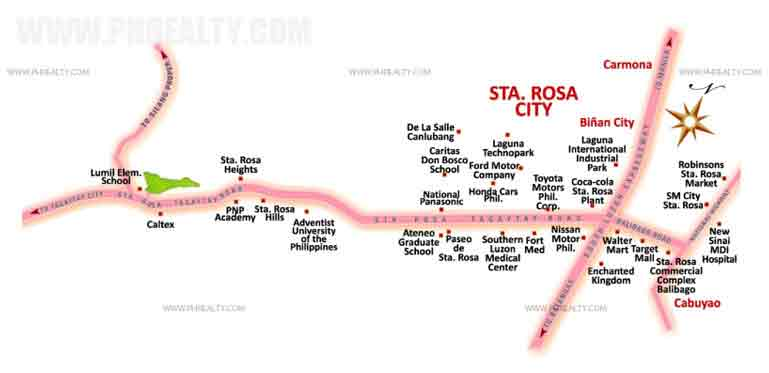 Toyota Sta Rosa >> Location & Address of Suntrust Suntrust Verona - Silang Near Tagaytay.