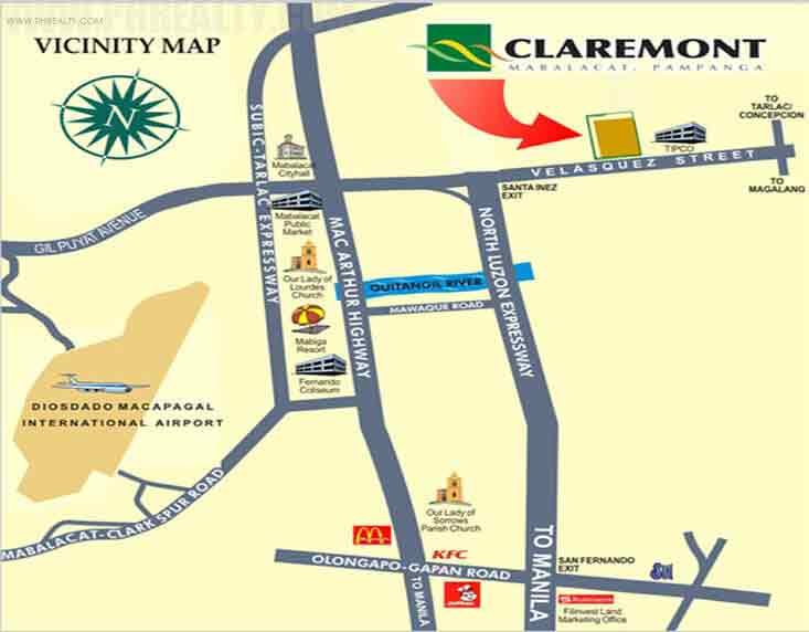 Claremont Location
