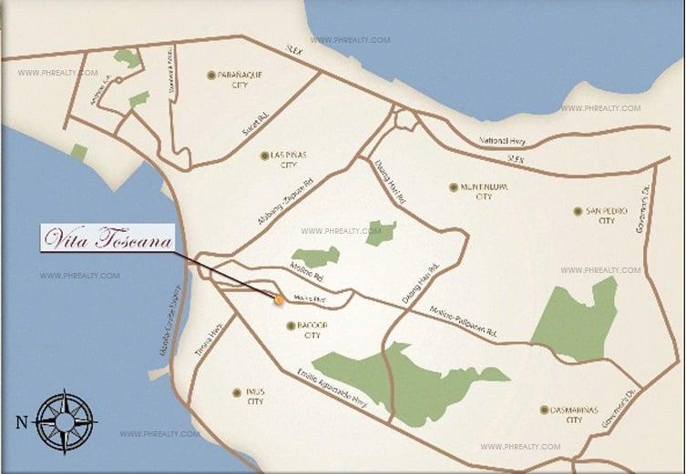 Vitta Toscana Location