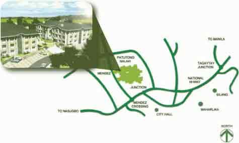 Woodhills Residences Location