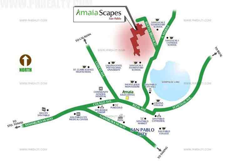 Amaia Scapes San Pablo Location