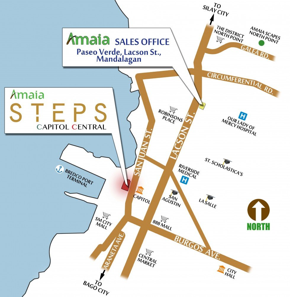 Amaia Steps Capitol Central Location