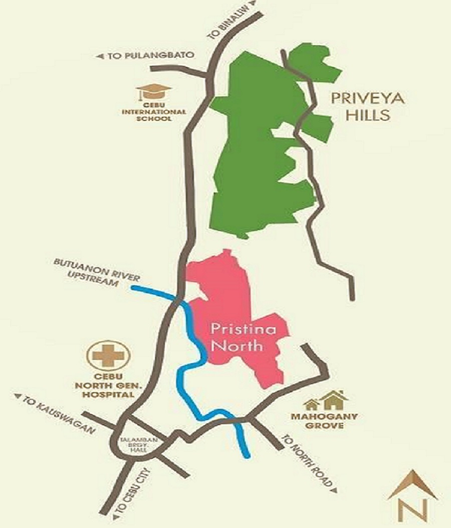 Priveya Hills Location