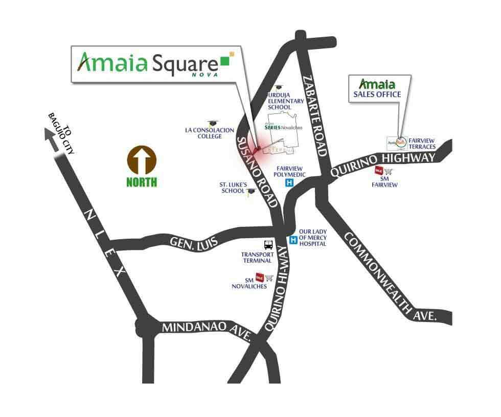 Amaia Square Nova Location