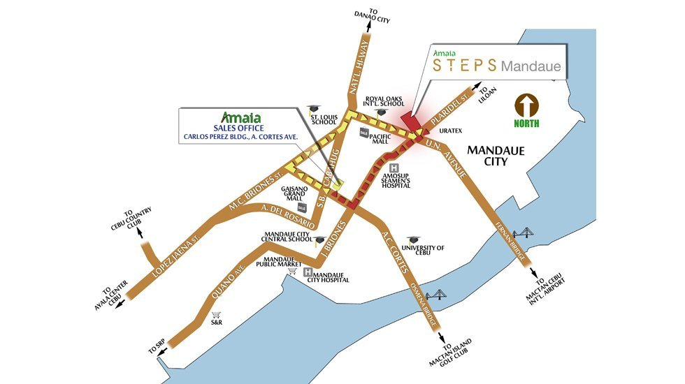 Amaia Steps Mandaue Location