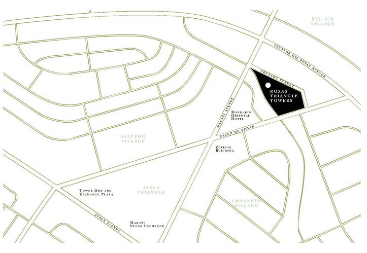 Two Roxas Triangle Location