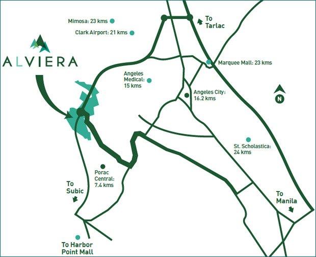Montala Alviera Location