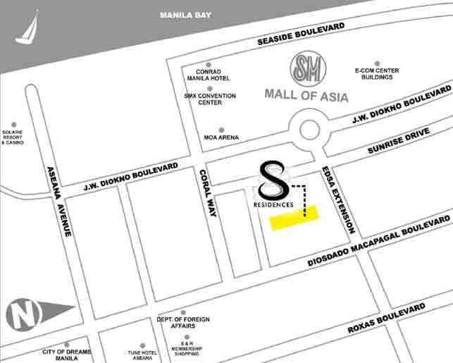 SMDC S Residences Location