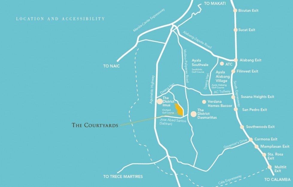 The Coutryards Location