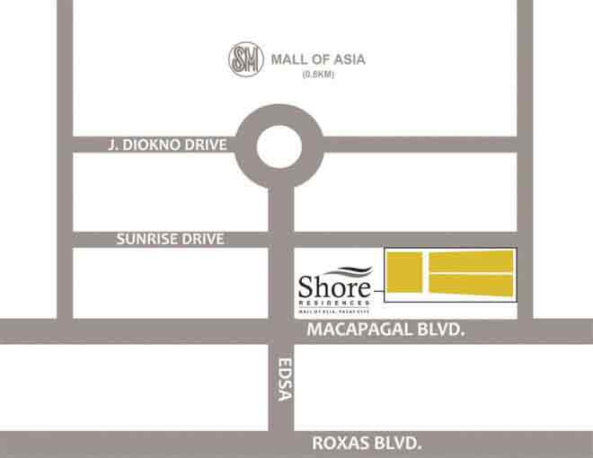 Shore 3 Residences Location